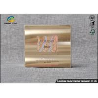 Foil Stamping Cardboard Gift Boxes Luxury Design For Cosmetic Skincare Cream Manufactures
