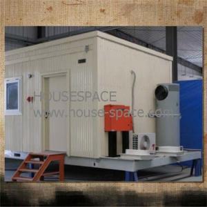 China Steel Waterproof Modern Modular House Rock wool Or Neopor Insulation on sale