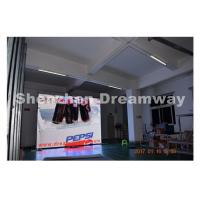 Iron SMD3535 Outdoor Advertising LED Display Board / led video screen High Brightness Manufactures