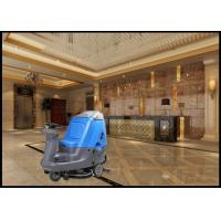 Biggest Driving  Model Ride On Floor Scrubber Dryer Suit for Meeting Rooms Manufactures