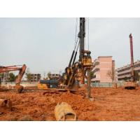 1M Max Drilling Dia Pile Driving Equipment With CAT 318D Excavator Chassis Manufactures