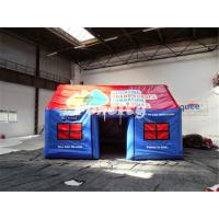 5 Years Lifespan Inflatable Family Tents / Durable Colorful Party Tent Rental Manufactures