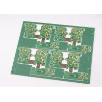 Green Solder Mask Rigid Flexible PCB 4 Layer with Immersion Gold Plating Manufactures