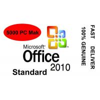 Original Key Microsoft Office 2010 Key Code 5000 PC Excel PowerPoint Manufactures