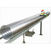 Quality Compressed Semi Rigid Aluminum Duct for Industrial HVAC Systems , 150mm for sale