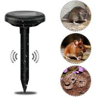 China Solar Powered Ultrasonic Rat Repellent Rodent Mouse Rat Pest Repeller on sale