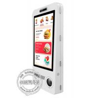 China Restaurant WIFI 32 Inch Wall Mountable Food Ordering Machine Self Service Kiosk With POS And Ticket Printer on sale