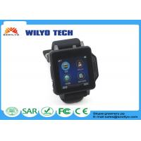 China GW109 Touch Screen Wrist Watch , l12s Oled Bluetooth Bracelet Watch Gsm Mp3 For Android OS Black on sale