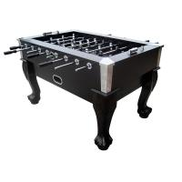 Full Size Foosball Table With Metal Corner , Foosball Soccer Table For Entertainment Manufactures