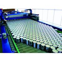 Buy cheap Full Can Automatic Palletizer Machine , Container Palletizing Systems ISO Marked from wholesalers
