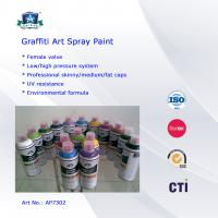 Multi Colors 400ml Art Graffiti Spray Paint For Wall / House Decoration Manufactures