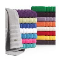 100% cotton solid color terry blanket