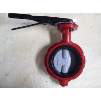 ISO & CE certificate Industrial U.S.A Butterfly Valve with EPDM / NBR liner Manufactures