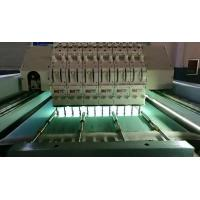China 5KW Horizontal Quilting Embroidery Machine Single Head Integral Steel Structure on sale