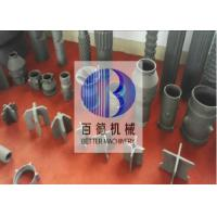 Length Customized Ceramic Heat Exchanger , Silicon Carbide Burner 8 Thickness Manufactures