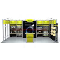 3mx6m Exhibition Display Booth Exhibition Stands Fair Booth Shell Scheme Manufactures