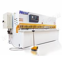 China QC12K 10x2500 Swing beam shearing machine Stainless steel metal sheet iron plate sheet cutting machine on sale
