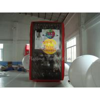 3.5*2*2m inflatable cube balloon with six sides digital printing for Celebration day Manufactures