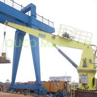Buy cheap Fixed Marine Small Lifting Straight Boom Crane With Reliable Components from wholesalers