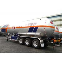 61000L LPG Tank Trailer With 3 Axles , Petroleum Gas Lorry Semi Trailer Manufactures