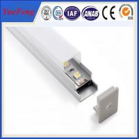 Good! ISO 9001 quality certification LED strip profile aluminum, led profiles with cover Manufactures