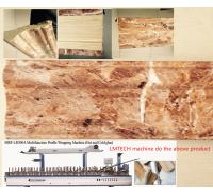 pvc wood furniture board making machine Manufactures