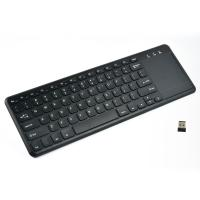 China 2.4G Wireless Media Keyboard Mouse Combo with  Big Mouse Touchpad Multi Touch Function on sale