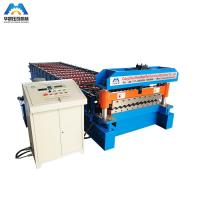 Corrugated Panel Roll Forming Machine 1000mm Coils Manufactures
