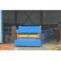 Galvanized Steel Tile Making Glazed Tile Forming Machine With 380V 50HZ Manufactures