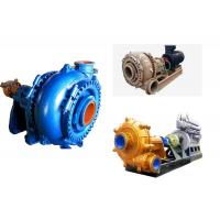 Heavy Duty Waterproof Sand Slurry Pump , Sand Pumping Equipment Energy Saving Manufactures