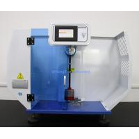 220V Plastic Testing Machine / PLC Impact Strength Testing Equipment For Izod And Charpy Manufactures