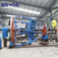 Cable Manufacturing Equipment Assemble Holder , Big Bearing Laying Up Machine Manufactures