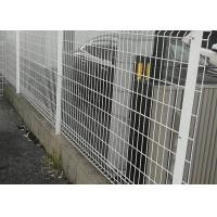 Galvanized Welded Mesh Fencing Aging Resistance With 4mm Wire Diameter Manufactures