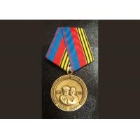 Two Side Die CastingZinc Alloy or Pewter Custom Awards Medals with High 3D and High Polishing Manufactures