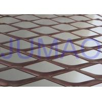 China Perforated Strong Architectural Expanded Metal Flattened With Diamond Holes on sale