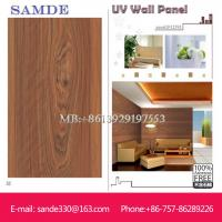 home deco wall material with fireproof UV wall board  2440*1220*6/8/9mm Manufactures