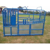 Durable cattle panel , cattle gates , oval rail yard equipment 1.2-2.5mm thickness Manufactures