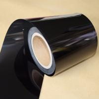 Electrical Insulation Black PET Film For Medical Devices / Producing Adhesive Tape Manufactures