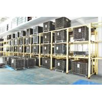 Folding Stackable Steel Wire Mesh Pallet Cage With Galvanized Surface Treatment