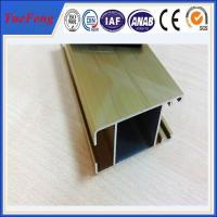 price of aluminium sliding window extrusion frame, aluminum rail for windows and doors Manufactures