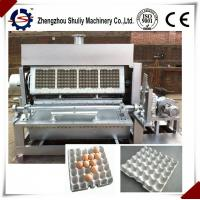 hot sale automatic egg tray forming machine line with CE approved for sale Manufactures