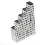 sintered ndfeb powerful permanent neodymium block magnet 6x5x2mm Ndfeb block magnet of N52 Manufactures