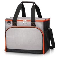 China 40 Cans Insulated Cooler Tote Bags Stylish With Insulated Compartment Hiking BBQ Party on sale