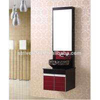 JX-113 small pvc bathroom cabinet Manufactures