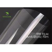 Quality Fire Rated Transparent PET Protective Film Heat Resistance For Industrial / Daily Use for sale
