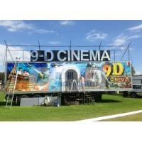 Safe Special Mobile 9D XD Theatre With Sunproof And Waterproof Truck Manufactures
