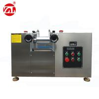 Food Grade Desktop Type Mini Open Mixing Mill For Food Industry , Pharmacy Manufactures