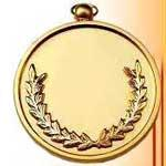China Cheap Religious Zinc Alloy Gold Medals on sale