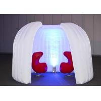 Meeting Advertising Inflatable Tent Programmed Change Intermittently Colors Manufactures