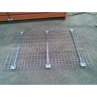 Customized Industrial Pallet Racks Wire Mesh Decking / Wire Decks For Metal Shelving Manufactures